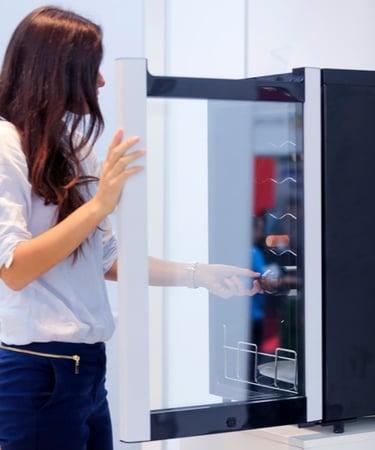 Kitchen Appliance Door Hinge - wine fridge