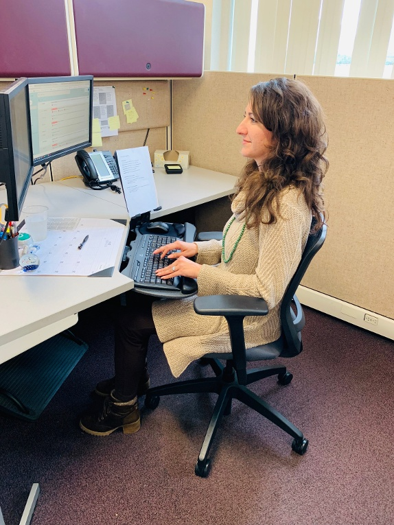 Workplace Posture and Ergonomics - sitting