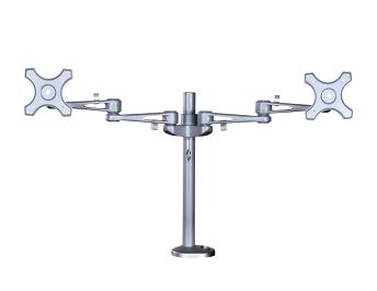 home office ergonomics checklist - dual monitor arm-1
