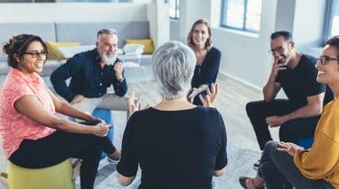 ergonomic office solutions - communal workspace