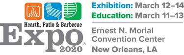Hearth Patio & Barbecue Expo hpbe 2020 logo