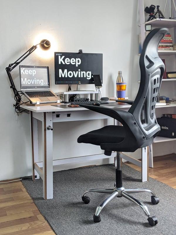 OSHA ergonomics guidelines - desk