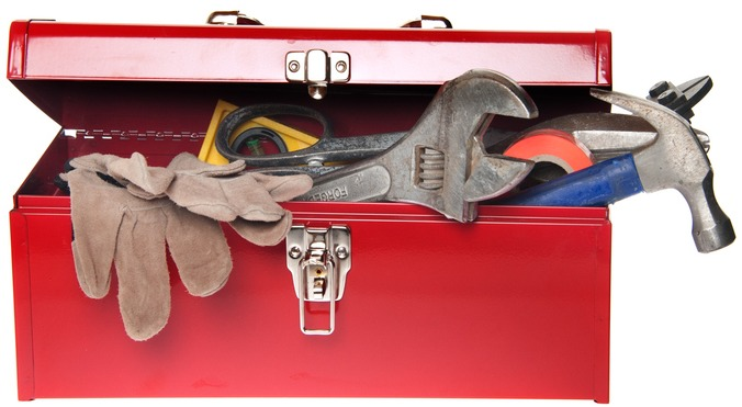 Heavy-Duty Lid Support Hinge - industrial toolbox