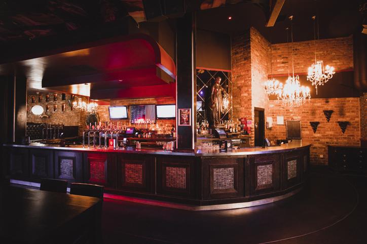Restaurant/Bar Countertop hinge - Bar countertop